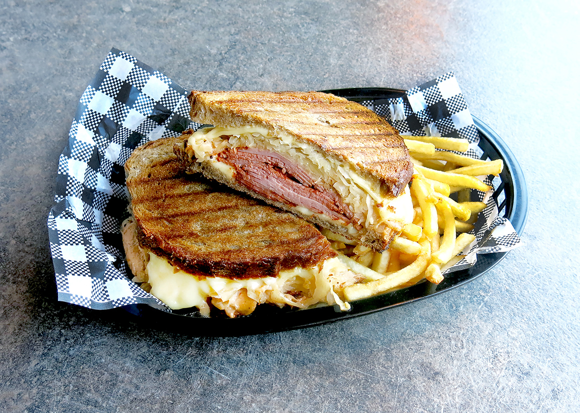 Big Arties Reuben Sandwich
