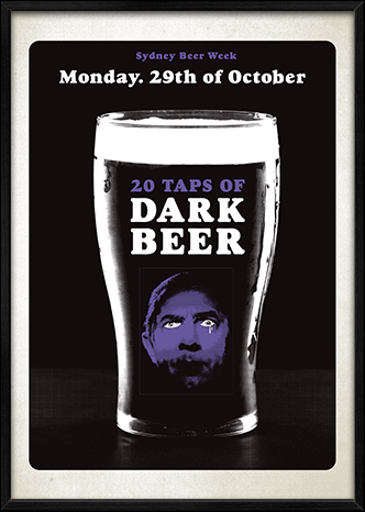 The Union Poster Dark Beers